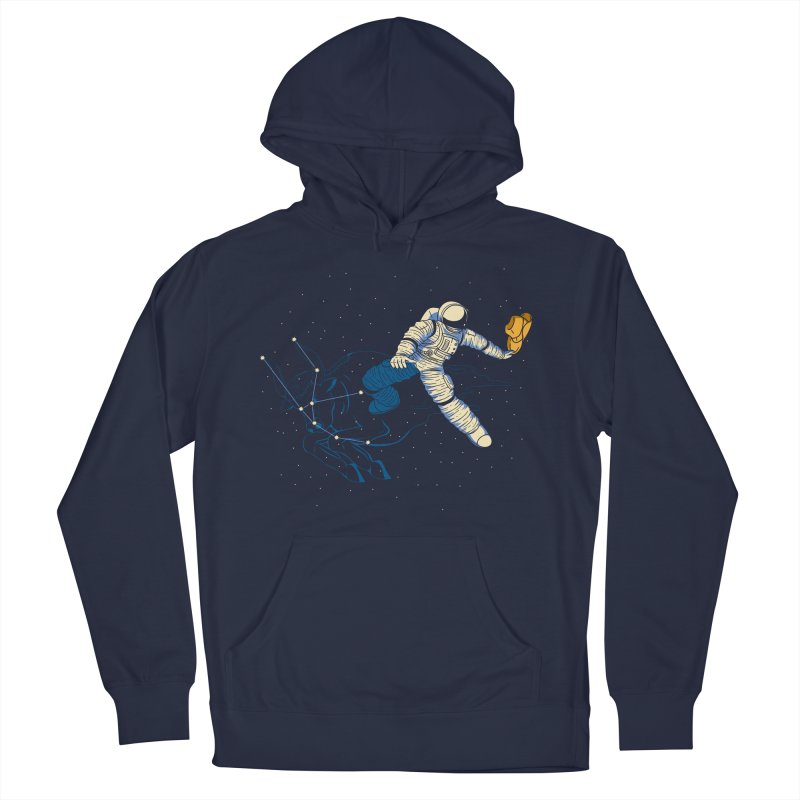 Wild Ride in Space Women's French Terry Pullover Hoody by monochromefrog