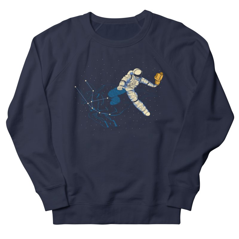 Wild Ride in Space Women's Sweatshirt by monochromefrog