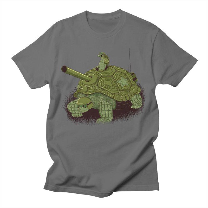 Slow Patrol Men's T-Shirt by monochromefrog