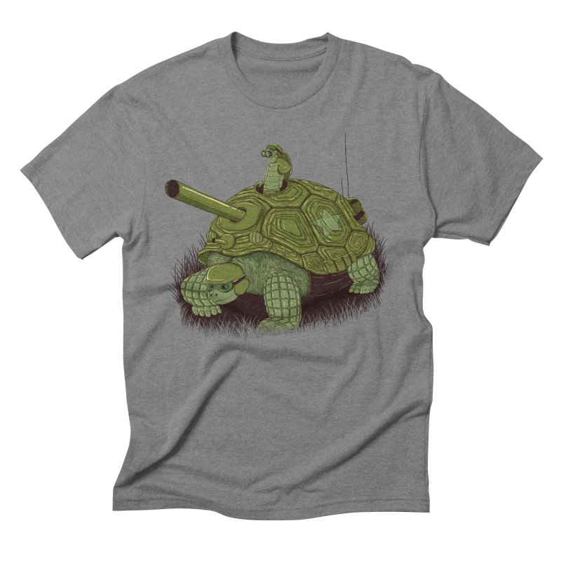 Slow Patrol Men's T-Shirt by monochromefrog