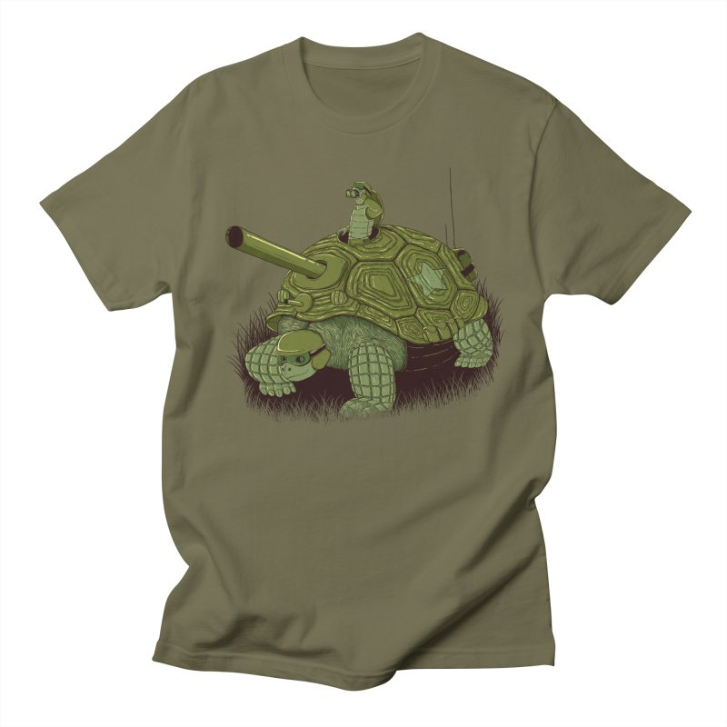 Slow Patrol Men's Regular T-Shirt by monochromefrog