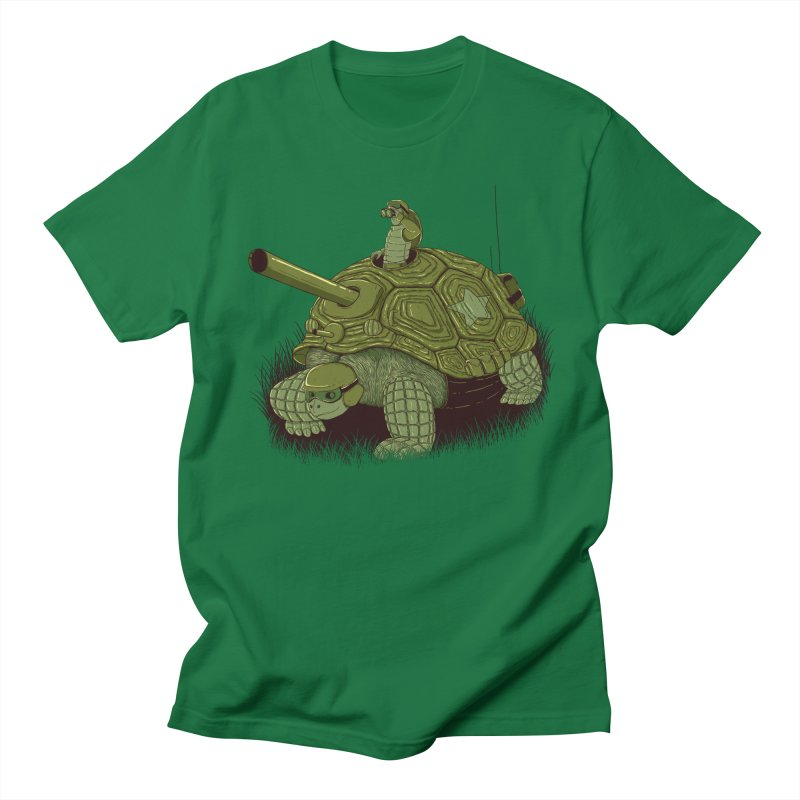 Slow Patrol Men's Regular T-Shirt by monochromefrog