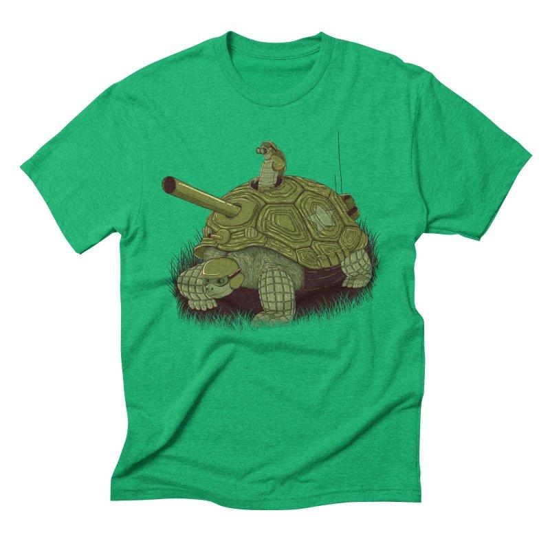 Slow Patrol Men's Triblend T-Shirt by monochromefrog