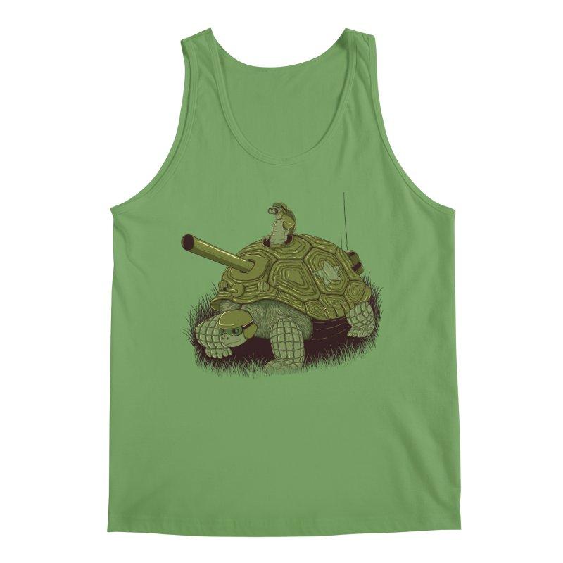 Slow Patrol Men's Tank by monochromefrog