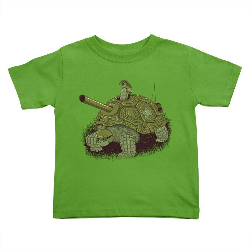 Slow Patrol Kids Toddler T-Shirt by monochromefrog