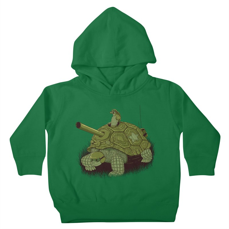 Slow Patrol Kids Toddler Pullover Hoody by monochromefrog