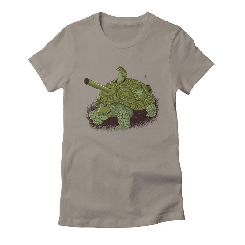 Slow Patrol Women's T-Shirt by monochromefrog