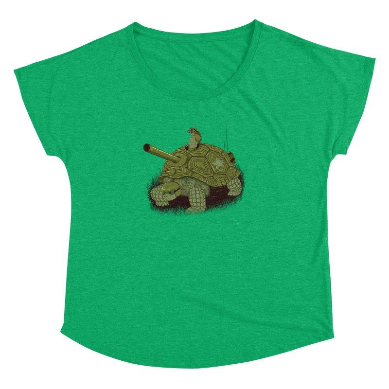 Slow Patrol Women's Dolman by monochromefrog