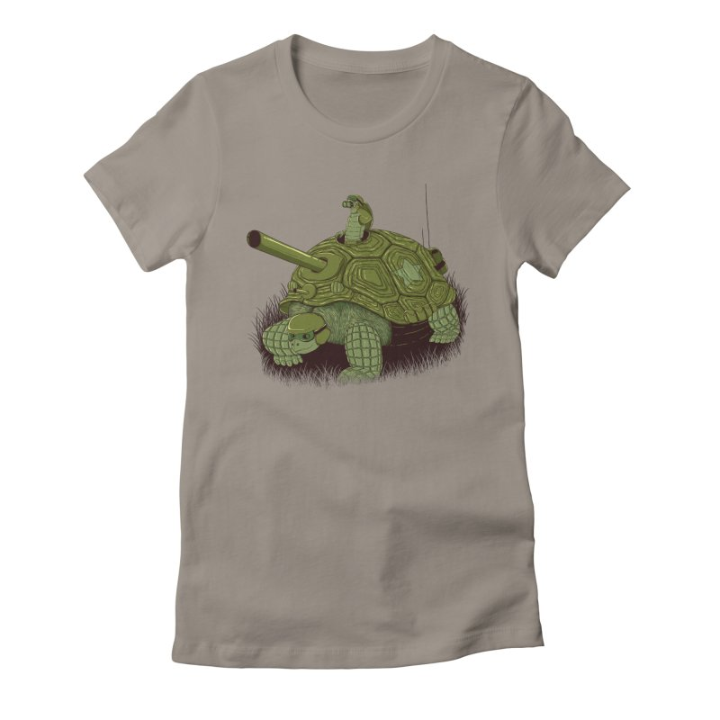 Slow Patrol Women's T-Shirt by monochromefrog