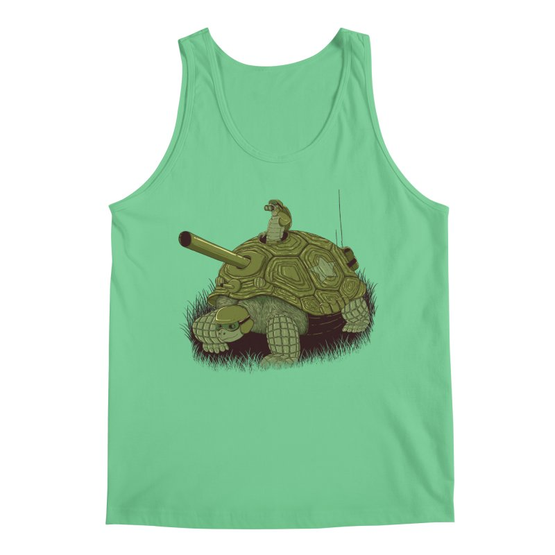 Slow Patrol Men's Regular Tank by monochromefrog