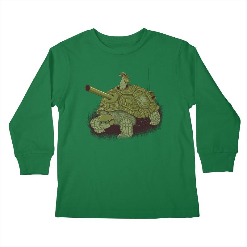Slow Patrol Kids Longsleeve T-Shirt by monochromefrog