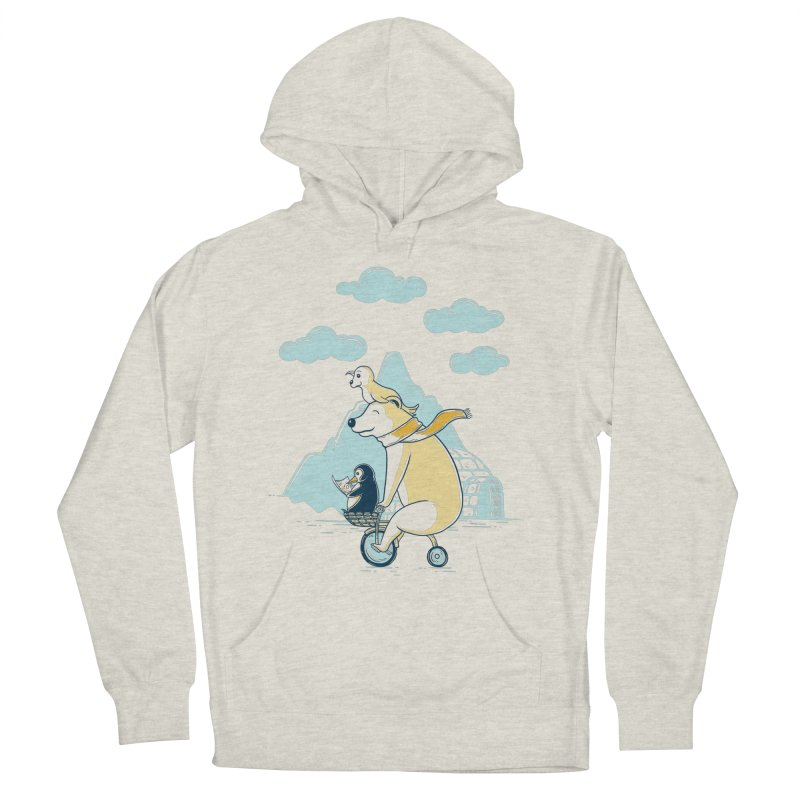 Icy Expedition Women's Pullover Hoody by monochromefrog