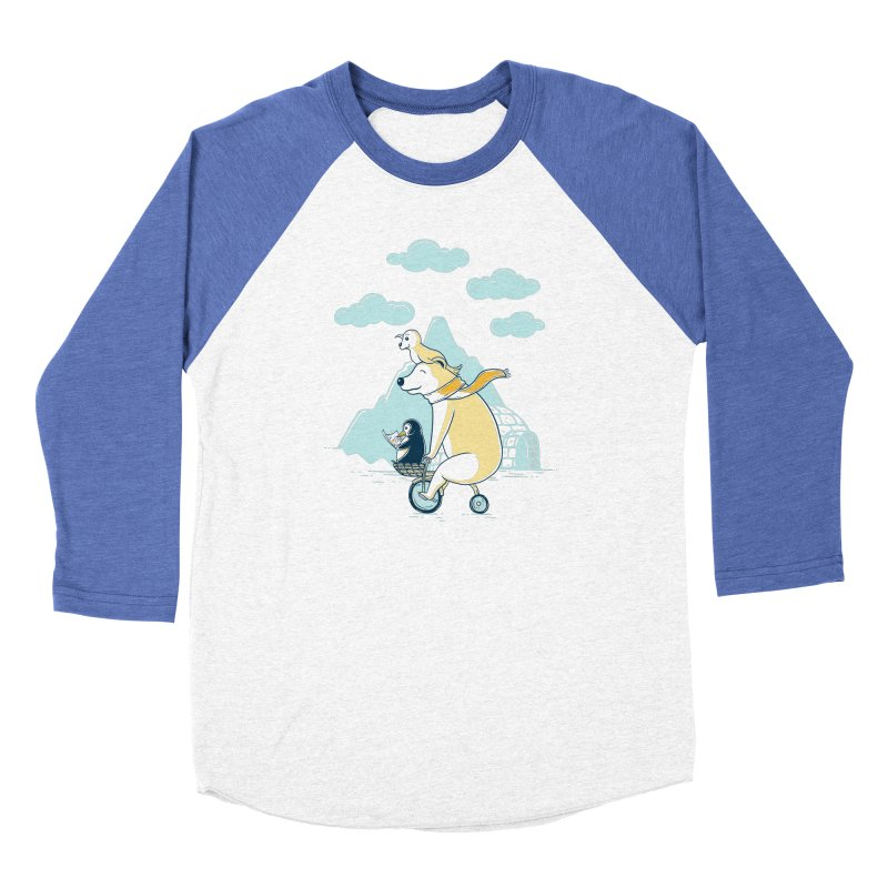 Icy Expedition Men's Longsleeve T-Shirt by monochromefrog