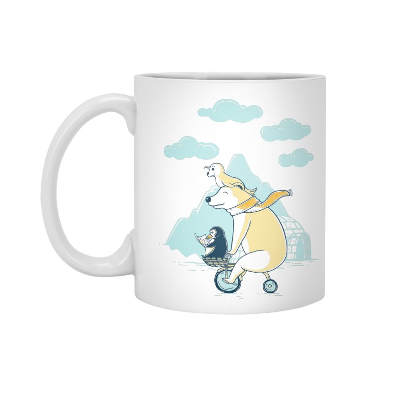 Icy Expedition Accessories Mug by monochromefrog