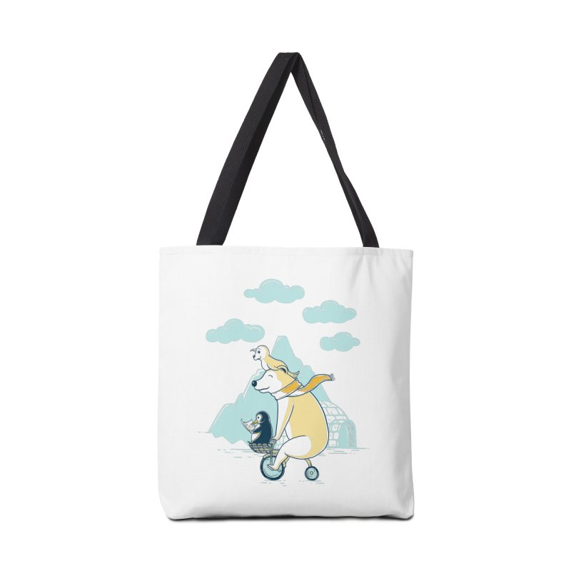 Icy Expedition Accessories Bag by monochromefrog