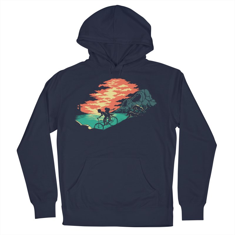Love Adventure Men's Pullover Hoody by monochromefrog