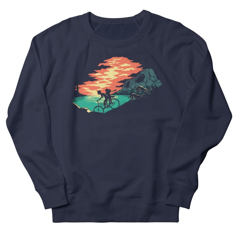 Love Adventure Men's Sweatshirt by monochromefrog