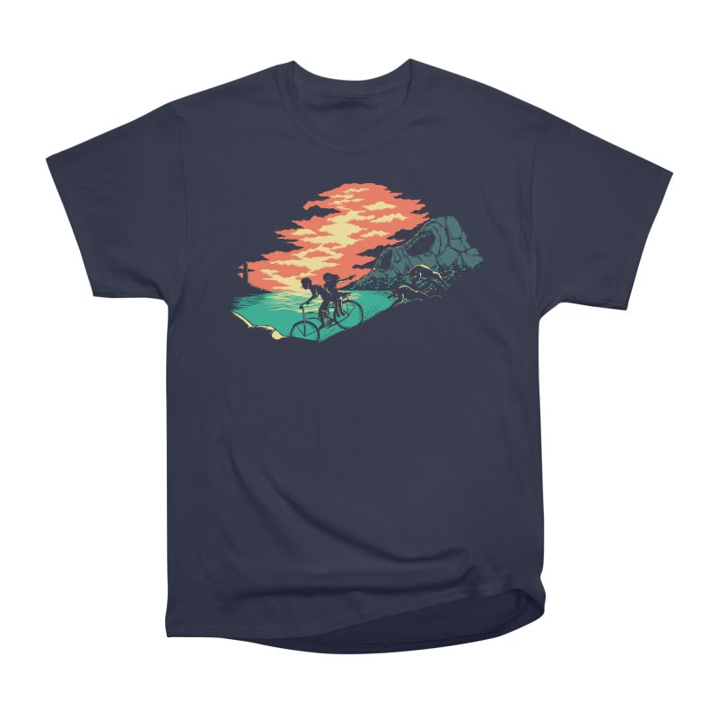 Love Adventure Men's Classic T-Shirt by monochromefrog