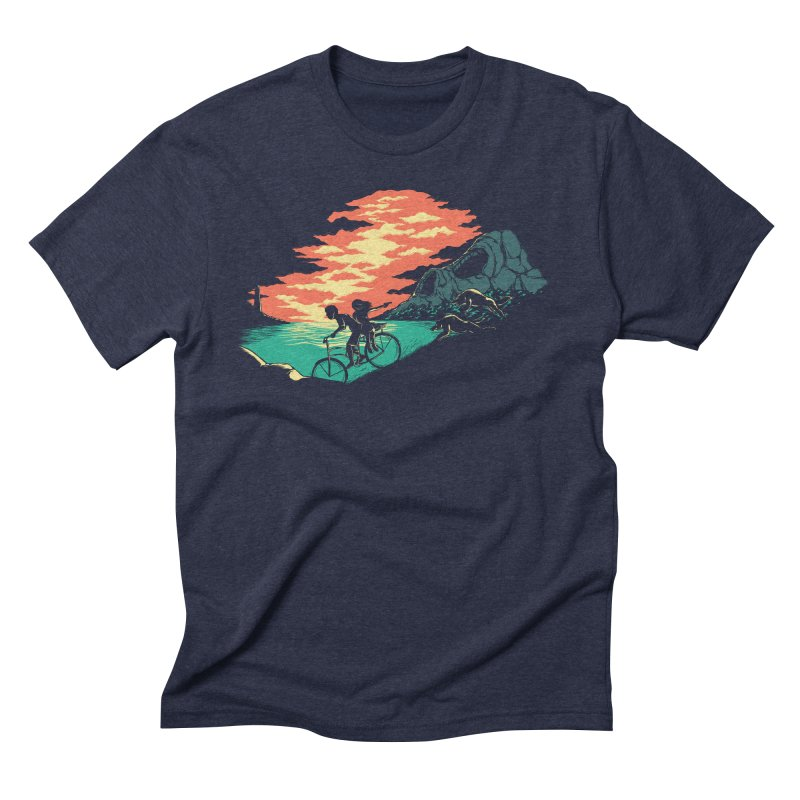 Love Adventure Men's Triblend T-Shirt by monochromefrog