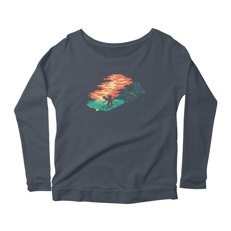 Love Adventure Women's Longsleeve T-Shirt by monochromefrog