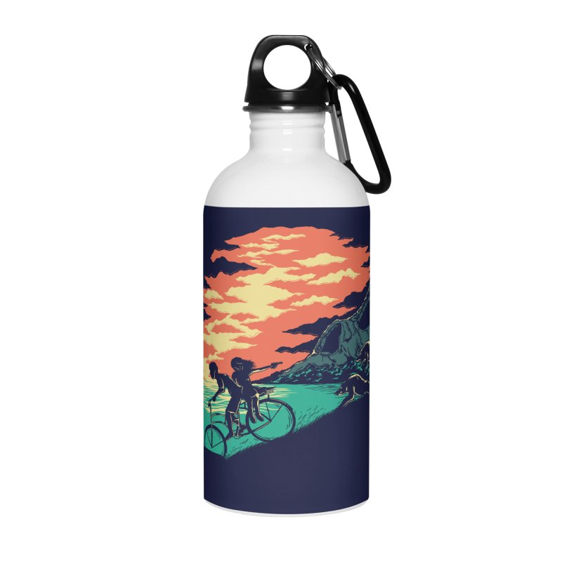 Love Adventure Accessories Water Bottle by monochromefrog