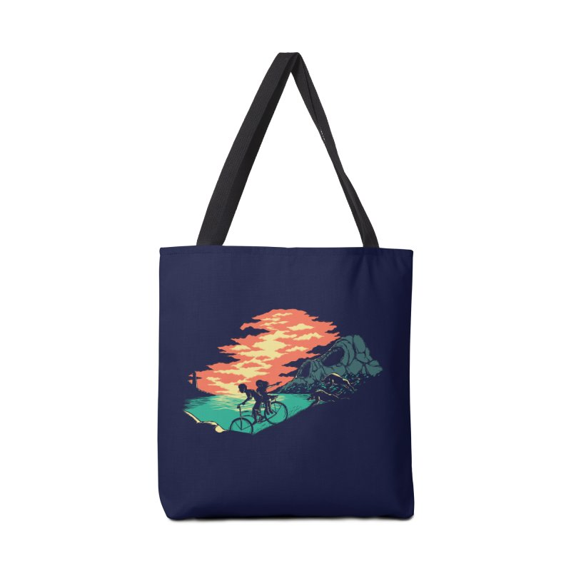 Love Adventure Accessories Tote Bag Bag by monochromefrog