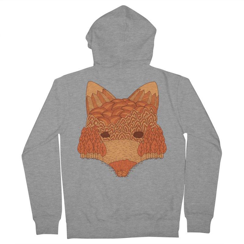 Where The Fox Hides Women's Zip-Up Hoody by monochromefrog