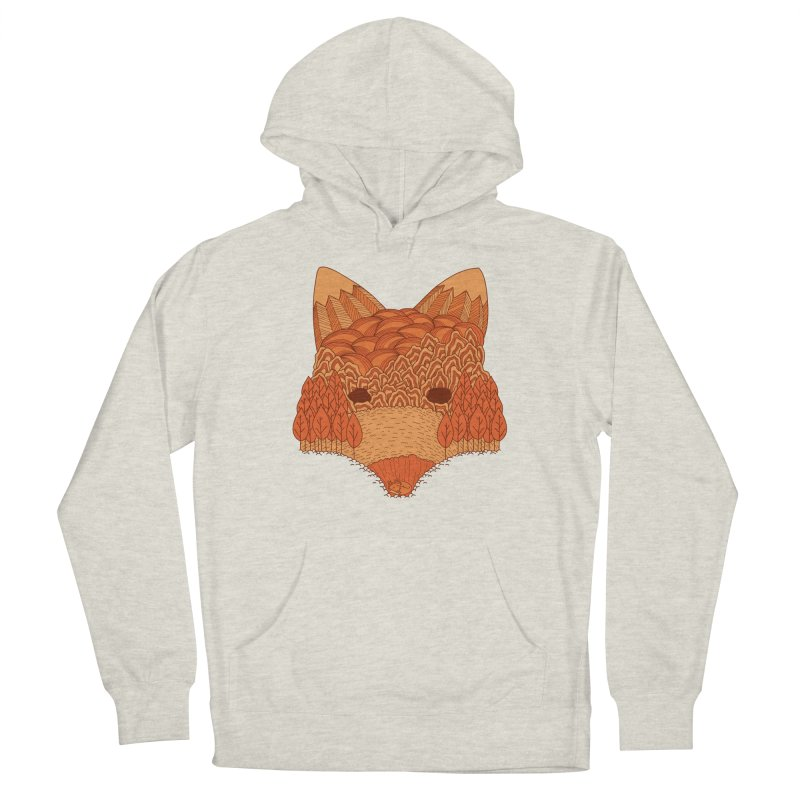 Where The Fox Hides Men's Pullover Hoody by monochromefrog