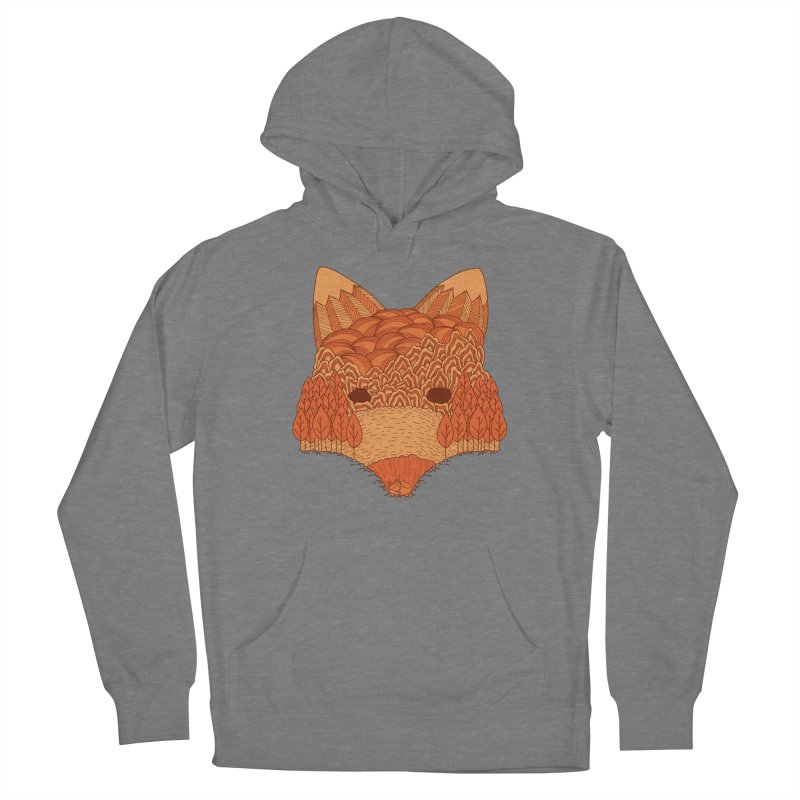 Where The Fox Hides Women's Pullover Hoody by monochromefrog