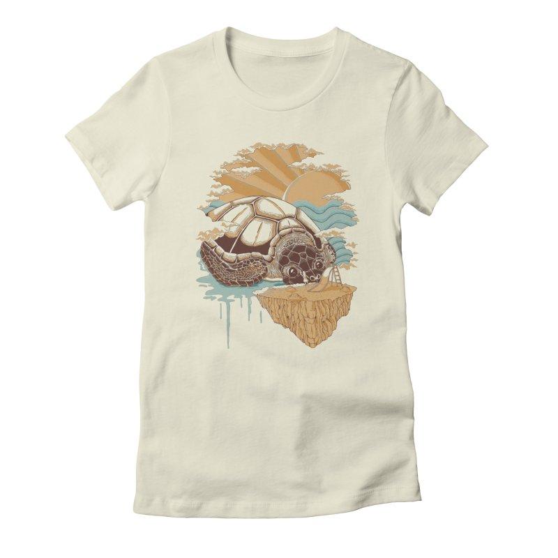 My Lovely Friend Women's T-Shirt by monochromefrog