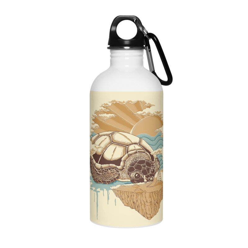 My Lovely Friend Accessories Water Bottle by monochromefrog