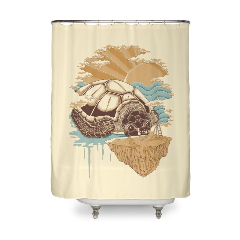 My Lovely Friend Home Shower Curtain by monochromefrog