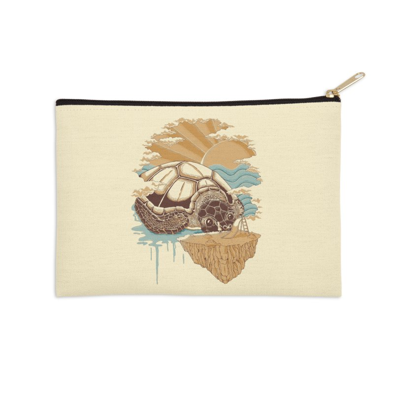 My Lovely Friend Accessories Zip Pouch by monochromefrog