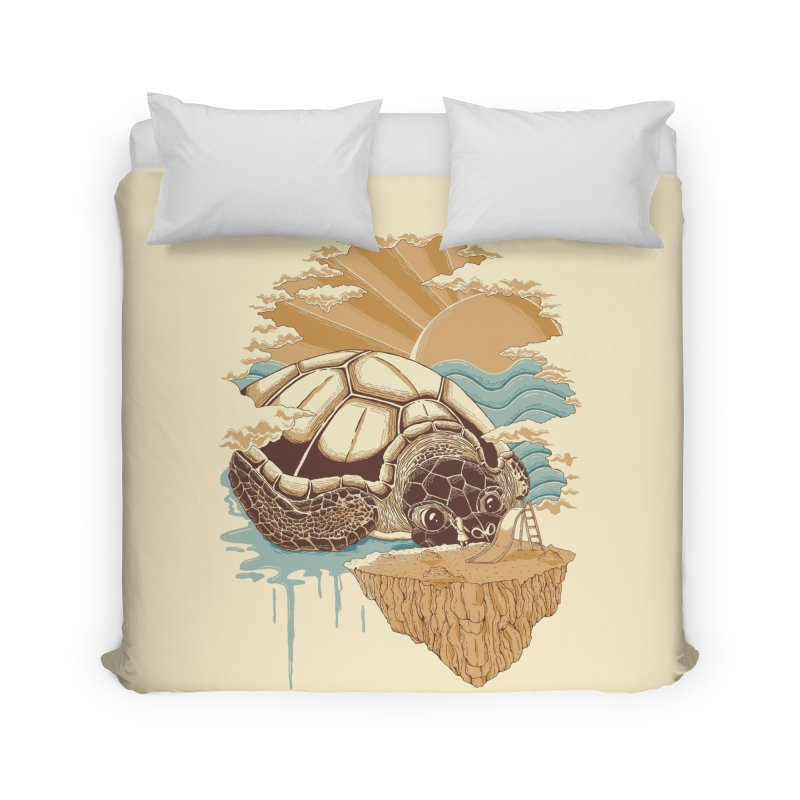 My Lovely Friend Home Duvet by monochromefrog