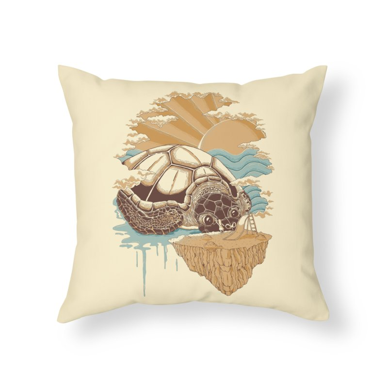 My Lovely Friend Home Throw Pillow by monochromefrog