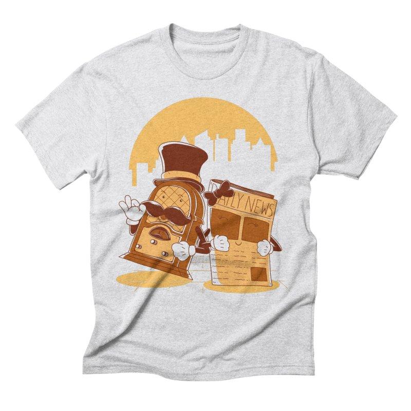 Old Timer's Stroll Men's T-Shirt by monochromefrog