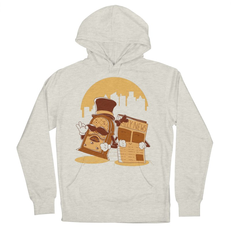 Old Timer's Stroll Women's Pullover Hoody by monochromefrog