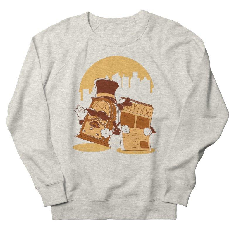 Old Timer's Stroll Women's Sweatshirt by monochromefrog