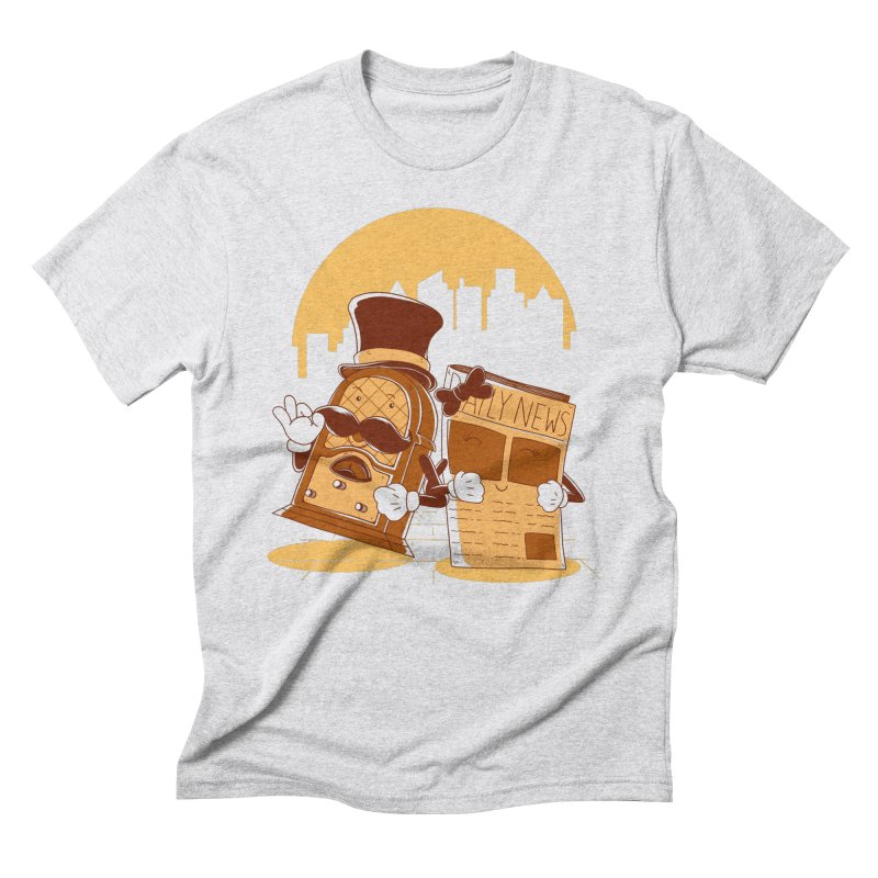 Old Timer's Stroll Men's T-Shirt by monochromefrog