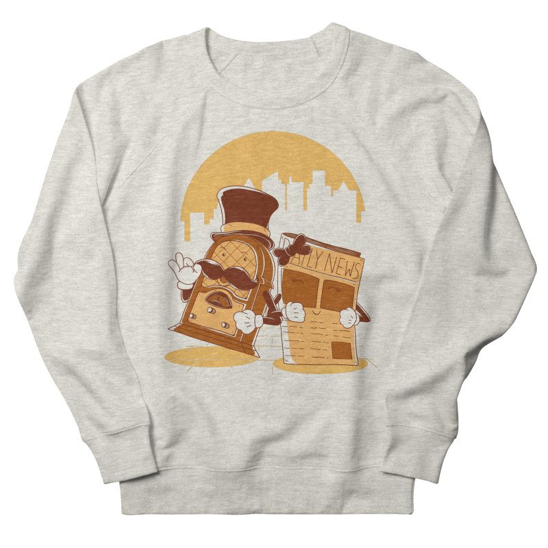Old Timer's Stroll Women's French Terry Sweatshirt by monochromefrog