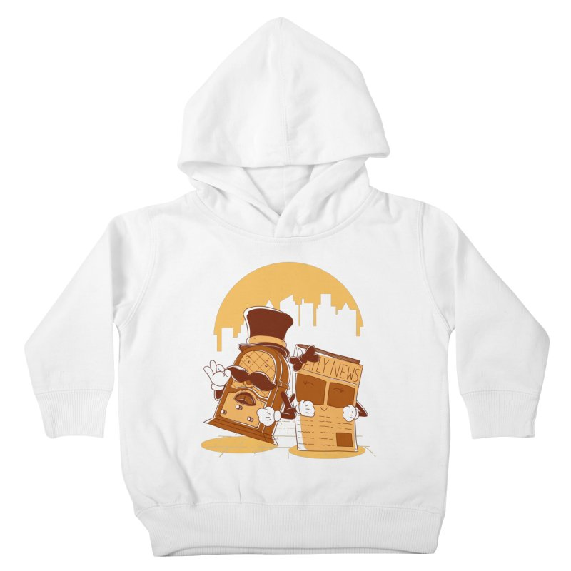 Old Timer's Stroll Kids Toddler Pullover Hoody by monochromefrog