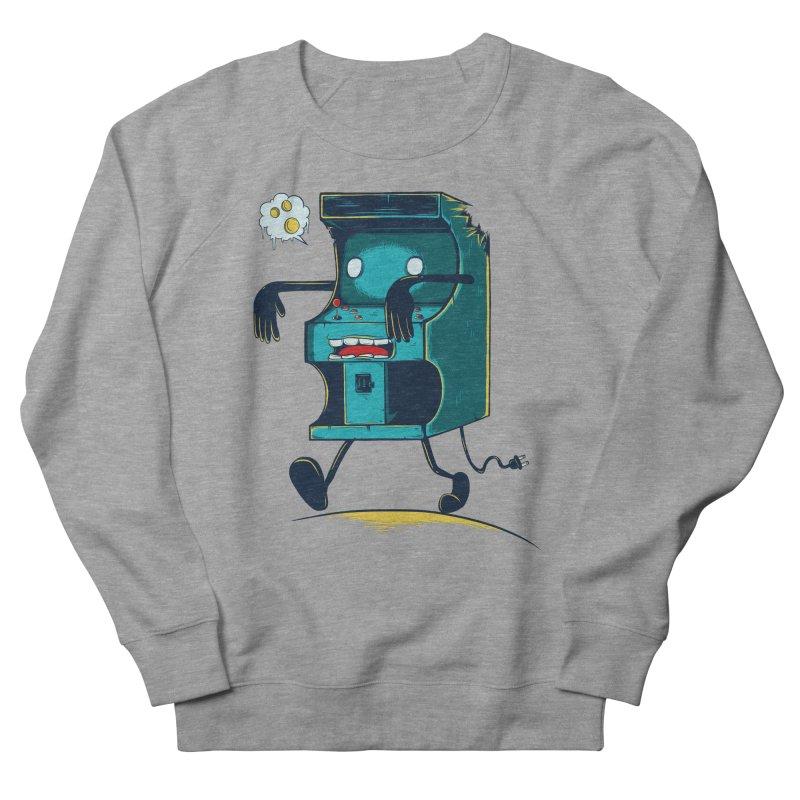 Zombie Arcade Women's French Terry Sweatshirt by monochromefrog