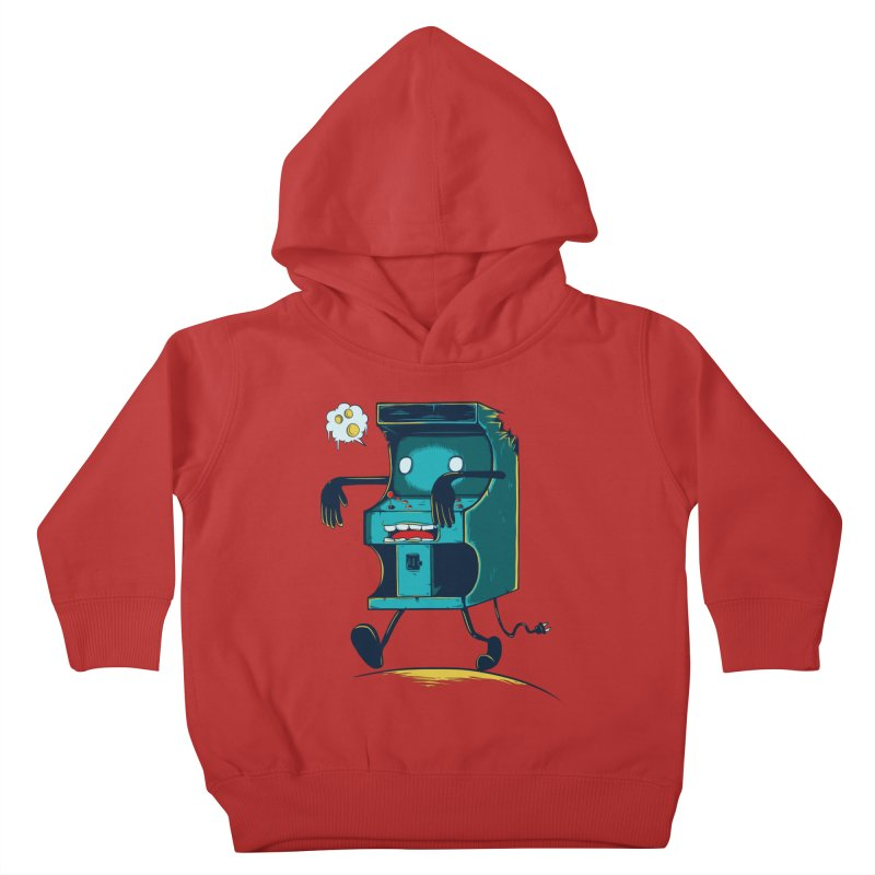 Zombie Arcade Kids Toddler Pullover Hoody by monochromefrog
