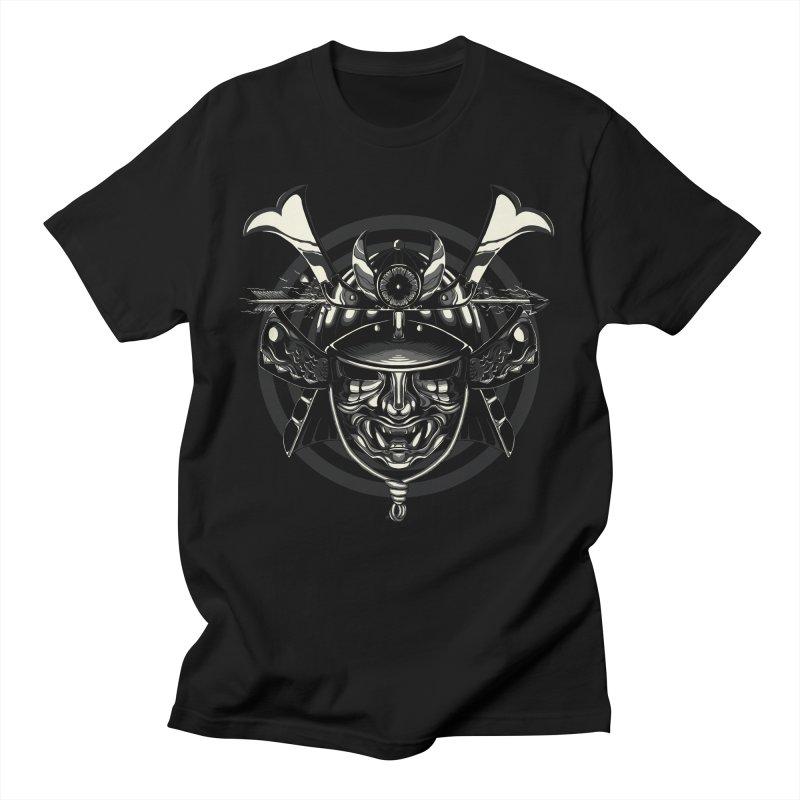 Head Shot Men's T-Shirt by monochromefrog