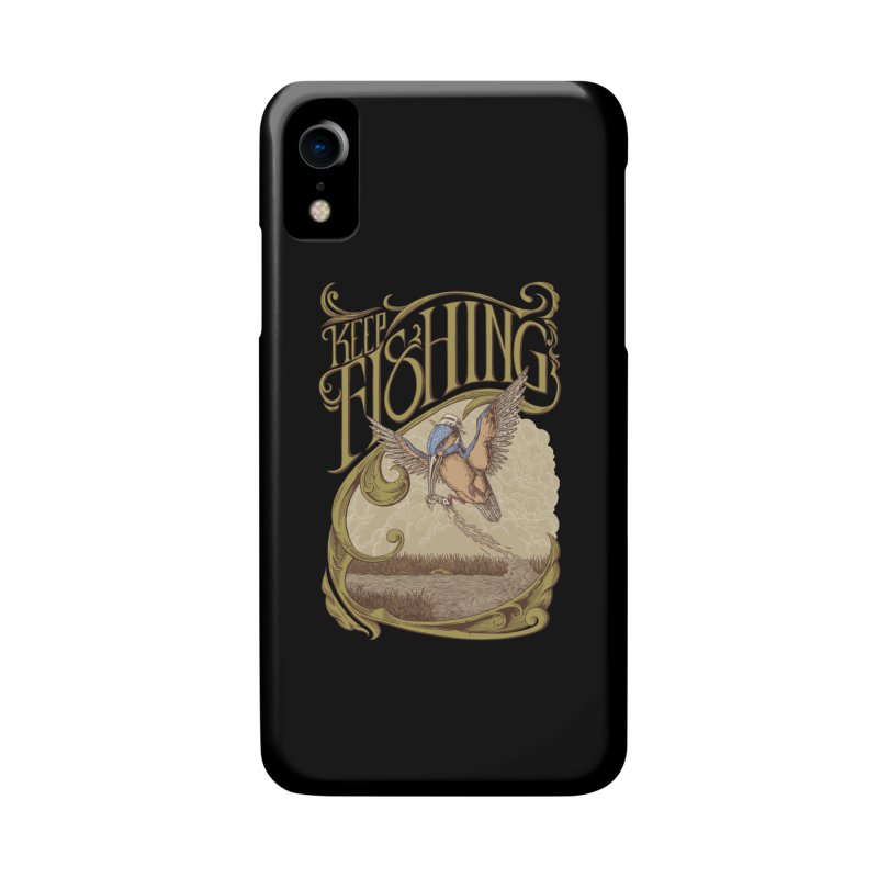 Fishing King Accessories Phone Case by monochromefrog