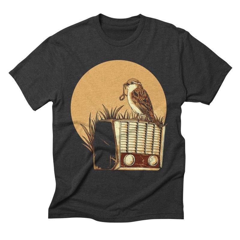 Re-Tune Men's T-Shirt by monochromefrog