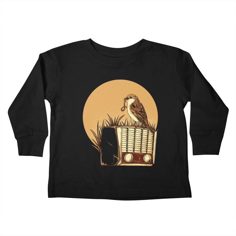 Re-Tune Kids Toddler Longsleeve T-Shirt by monochromefrog