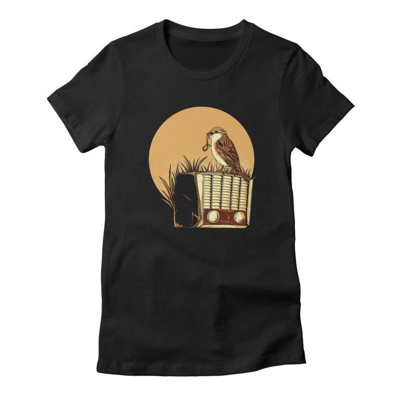Re-Tune Women's T-Shirt by monochromefrog