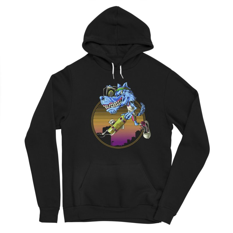 Air Wolf Men's Pullover Hoody by monochromefrog