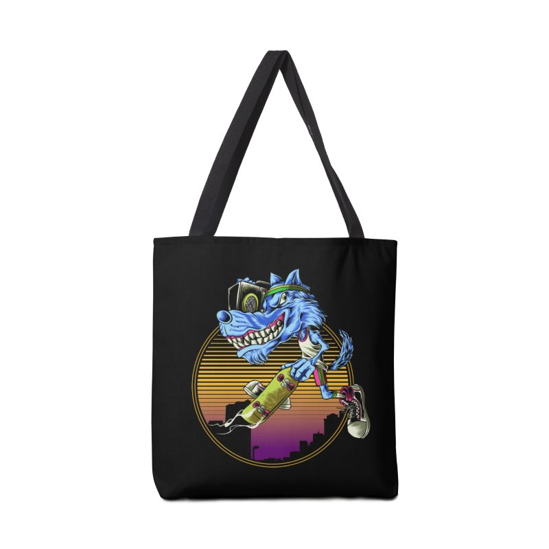 Air Wolf Accessories Tote Bag Bag by monochromefrog